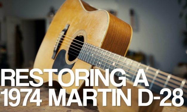 Martin D-28 restoration with Lars Dalin