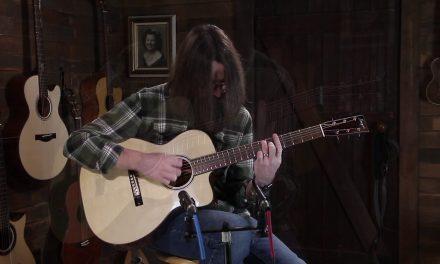 Bourgeois The Soloist OMC – Bearclaw Italian Spruce & Fiddleback Mahogany #8730