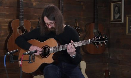 Ryan Nightingale Grand Soloist – Western Red Cedar & Figured Indian Rosewood #1012