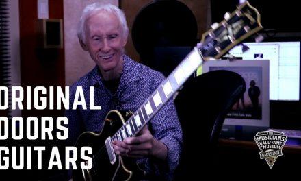Robby Krieger Shows His Original Doors Guitars & Talks about New Reissue Signature Guitars