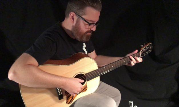 Square Deal Slope D Guitar at Guitar Gallery