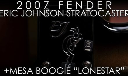 """""""Pick of the Day"""" – 2007 Fender Eric Johnson Stratocaster and Mesa Boogie Lonestar"""