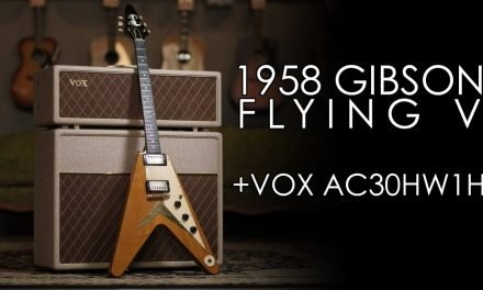 """Pick of the Day"" – 1958 Gibson Flying V and Vox AC30HW1H"