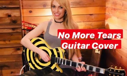 No More Tears Guitar Cover