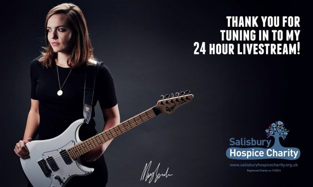 Mary Spender 24 Hour Livestream for Salisbury Hospice