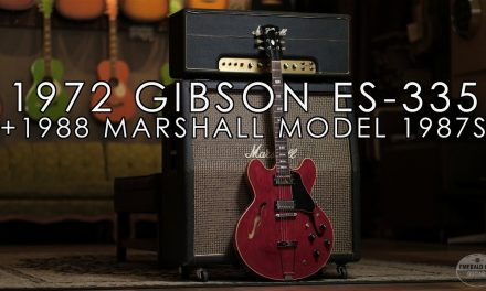 """""""Pick of the Day"""" – 1972 Gibson ES-335 and 1988 Marshal Model 1987S"""