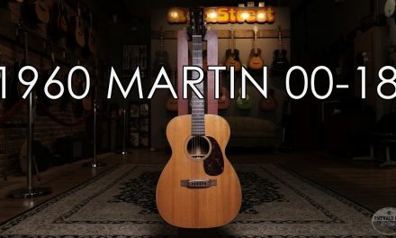 """""""Pick of the Day"""" – 1960 Martin 00-18"""