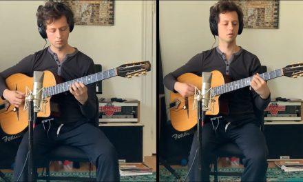 Lick of the Day: Django Style Lick with Andrew Brown's Djangophonique | Elderly Instruments