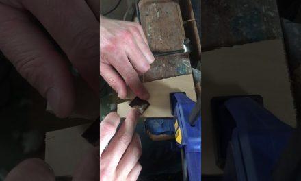 Cutting Pearl Inlay with Mark Dobbyn