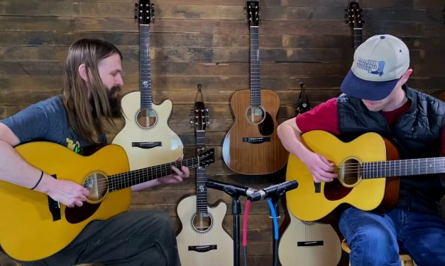 Collings OM1A JL x2 – Played by Dustin Greer & Graham Curry