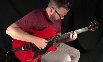 Stephen Raphael Marchione Red Archtop at Guitar Gallery