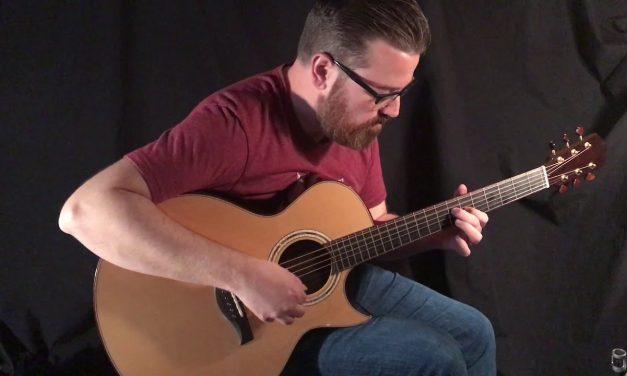 Beauregard SJ ABW Guitar at Guitar Gallery