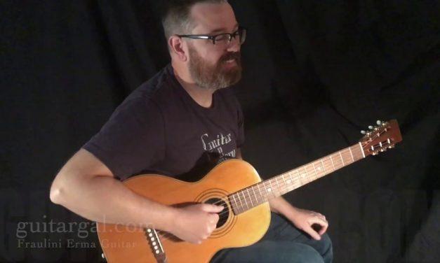 Fraulini Erma Guitar at Guitar Gallery