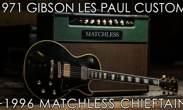 """Pick of the Day"" – 1971 Gibson Les Paul Custom and Matchless Chieftain"