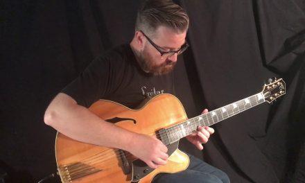 Santa Cruz Archtop Guitar at Guitar Gallery