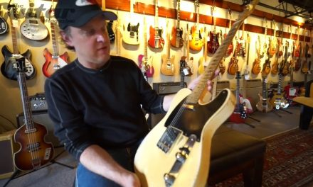 Joe Bonamassa plays Keith Richards' Guitar at Rumble Seat Music in Nashville
