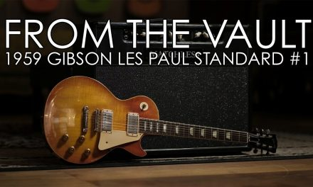 """From the Vault"" – 1959 Gibson Les Paul Standard #1"