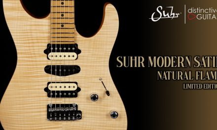 Suhr Modern Satin Limited Edition | Natural Flame Top