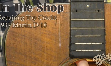 In The Shop: Repairing Top Cracks on a 1937 Martin D-18
