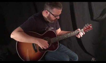 Froggy Bottom M Sunburst Guitar by Guitar Gallery