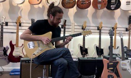 Uma Guitars Jetson 2 at SSGB
