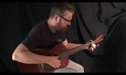 Vintage Martin 00-17 Guitar