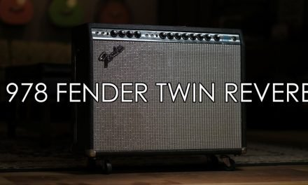 """Pick of the Day"" – 1978 Fender Twin Reverb w/1952 Fender Telecaster"