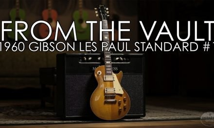 """From the Vault"" – 1960 Gibson Les Paul Standard #1"
