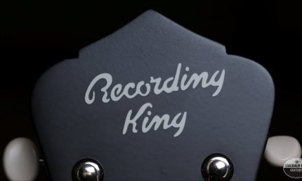 """Pick of the Day"" – Recording King Acoustics"