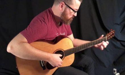 Bourgeois OM Custom Guitar w Varnish Finish