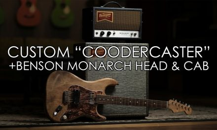 """Pick of the Day"" – Custom ""Coodercaster"" and Benson Monarch Head Cab"