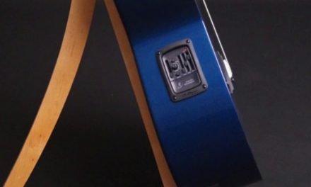 Blue RainSong Guitar at Guitar Gallery