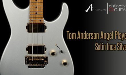 Tom Anderson Angel Player | Satin Inca Silver