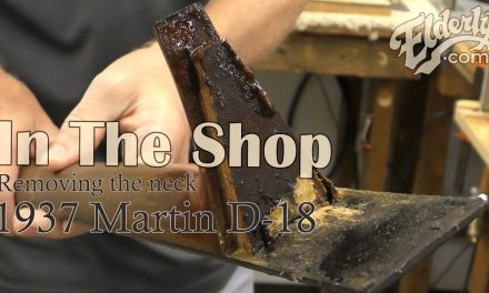In The Shop: Removing the Neck on a 1937 Martin D-18 | Elderly.com