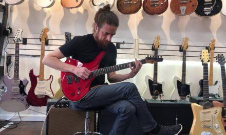 "Dean Gordon Guitars Virtus ""Ferrari Red"""