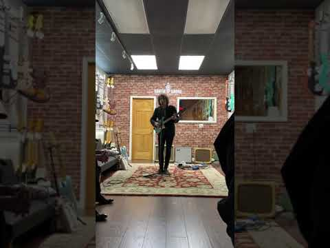 Vincent of Caged Animals solo at South Shore Guitar Boutique Grand Opening