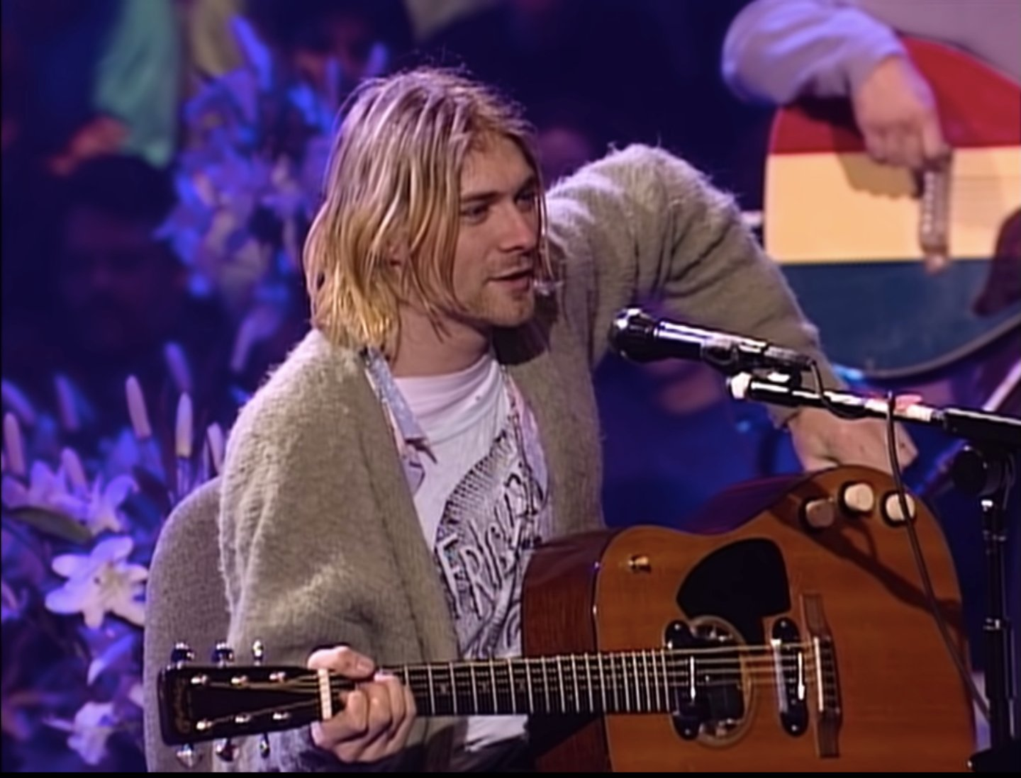 Kurt Cobain's 'Unplugged' Guitar Sold for $6 million