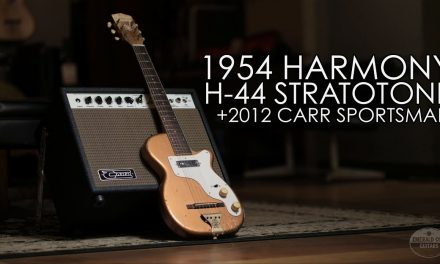 """Pick of the Day"" – 1954 Harmony H-44 Stratotone and 2012 Carr Sportsman"