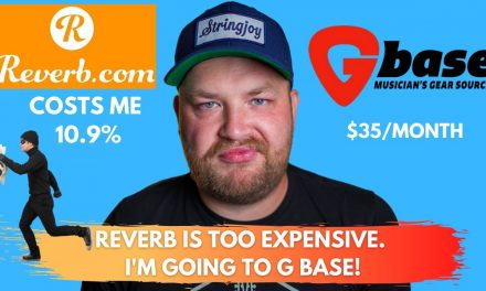 @Reverb is too expensive.  I'm going to GBase.  How to get the most money for your gear online.