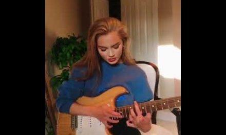 Guitarrista Emily Krueger