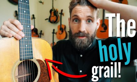 Playing a $55,000 guitar (and fell in love ????)