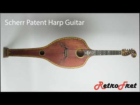 1830s Scherr Patent Harp Guitar with Amy Mills