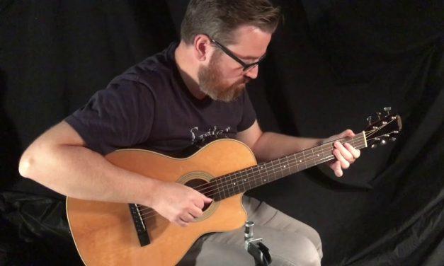 Recording King Eric Schoenberg Guitar at Guitar Gallery