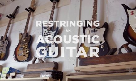 D'Addario Core: How to Restring an Acoustic Guitar