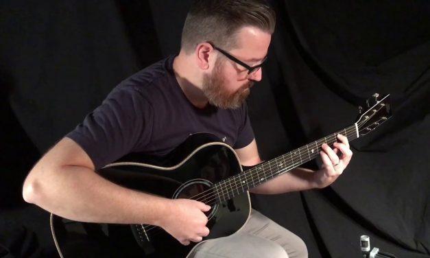 Black Froggy Bottom Guitar at Guitar Gallery