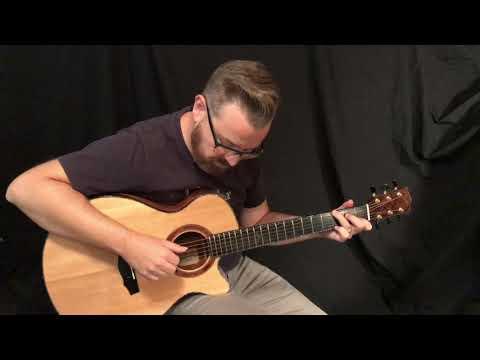 L. J. Williams Whitebait Ancient Kauri Guitar
