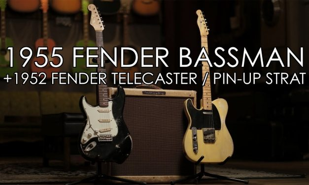 """""""Pick of the Day"""" – 1955 Fender Bassman w/'52 Tele and Pin-Up Strat"""