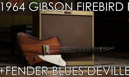 """""""Pick of the Day"""" – 1964 Gibson Firebird I and Fender Blues Deville"""