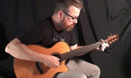 Claxton Brazilian Rosewood Guitar at Guitar Gallery