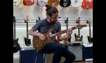 Jesselli Guitars Herringbone Solid Body